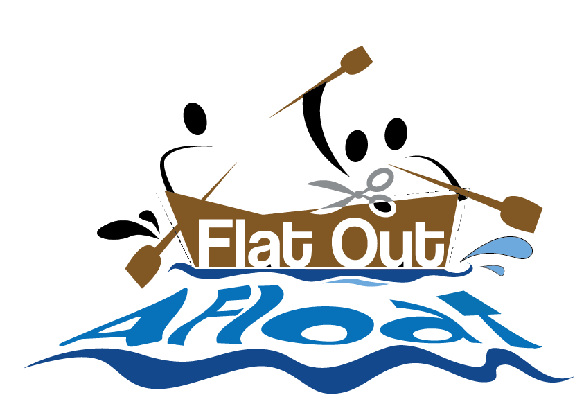 Flat Out Afloat Logo
