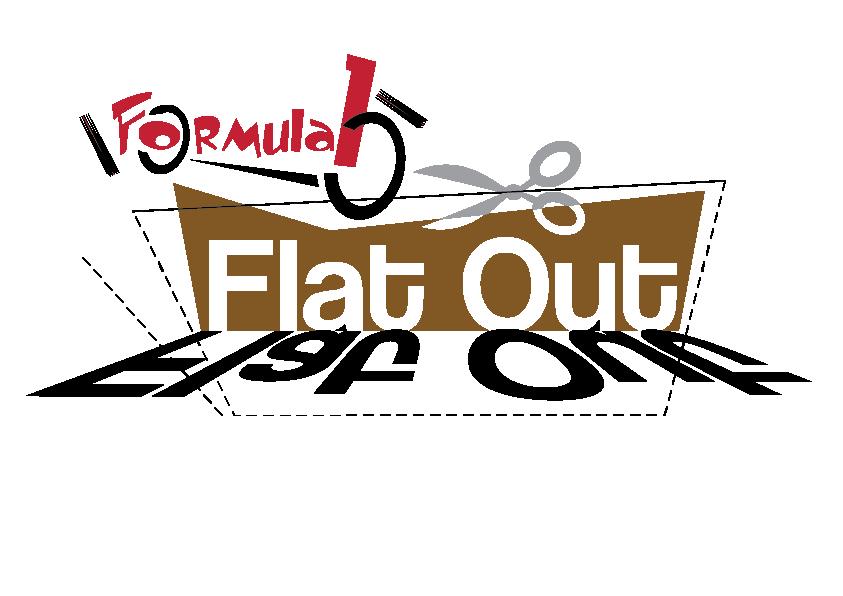 Flat Out Formula 1 Logo