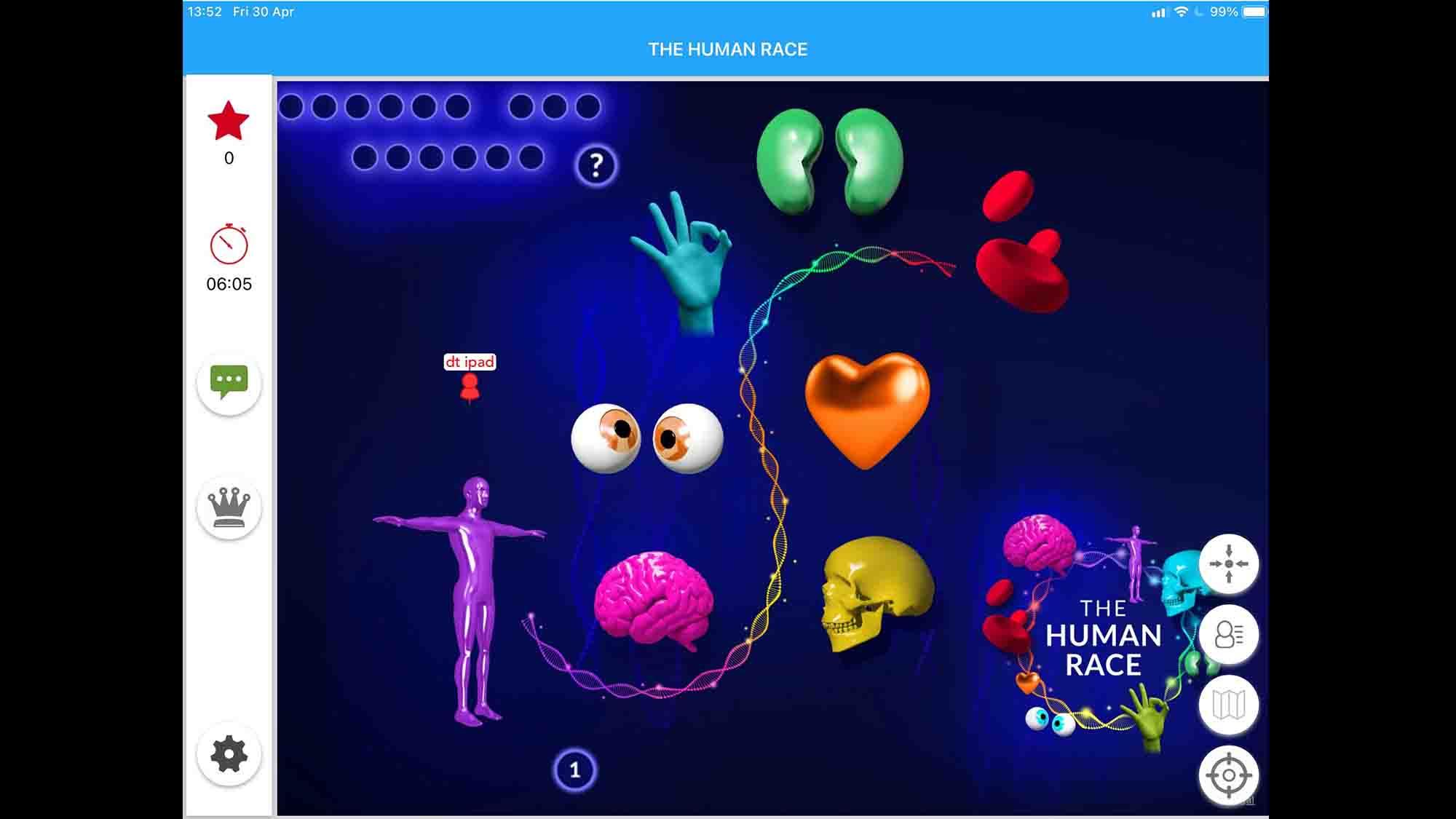 The Human Race Screen